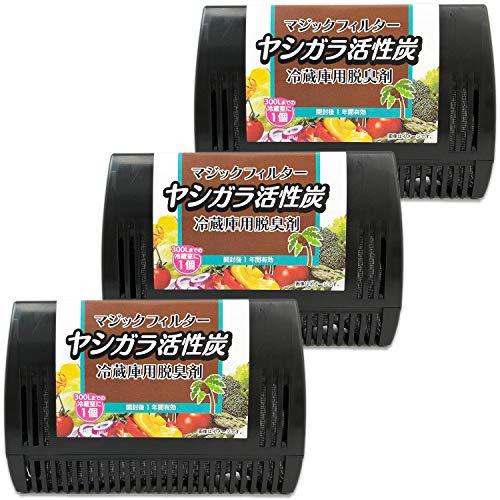 ライオンケミカル『マジックフィルターヤシガラ活性炭冷蔵庫用脱臭剤』