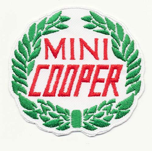 RG20 Mini Cooper Patch Aufnäher Aufbügler Automobile Oldtimer England