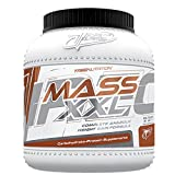 TREC NUTRITION MASS XXL 3000g BAG Vanilla WHEY PROTEIN CARBOHYDRATES MASS GAINER ENERGY SUPPLY by Vitamin Shop Online