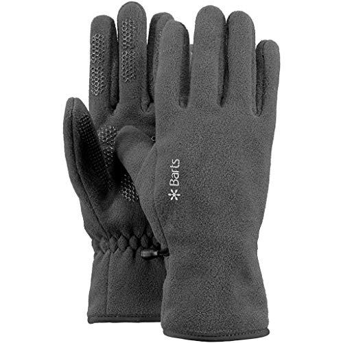 Barts Unisex Fleece Handschuhe, Grau (0002/Heather Grey 002b), X-Small(6.0)