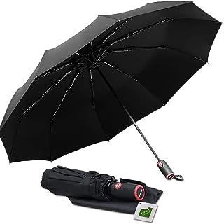 Konigswerk Automatic Open/Close Lightweight Windproof Travel Umbrella