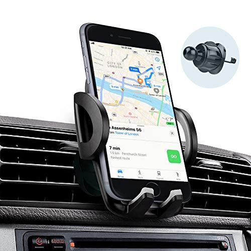 Telefoonhouders Auto, Gsm Houder Universele Verstelbare Autoventilatiesleufhouders voor iPhone, Samsung, Huawei en elke Andere Smartphone of GPS