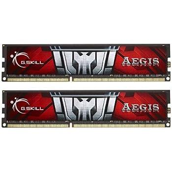 G.SKILL F3-1600C11D-16GIS Aegis 16GB (2 x 8GB) 240-Pin SDRAM DDR3 1600MHz (PC3 12800) Desktop Memory
