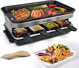 Best Raclette Grills - Raclette Grills Indoor Raclette Machine, Grill for 8 Review