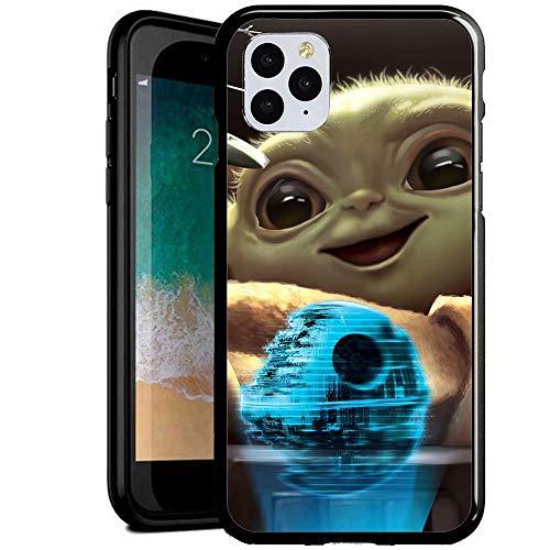 Compatible con iPhone 6 Plus/6s Plus Funda, Carcasa con patrón Diseño Bordes en Suave TPU Silicona Híbrida Tempered Vidrio para iPhone 6S Plus/iPhone 6 Plus (GYGY1300011)