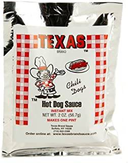 Buffalo's Own Texas Brand Texas Hots Hot Dog Sauce Instant Mix Packet