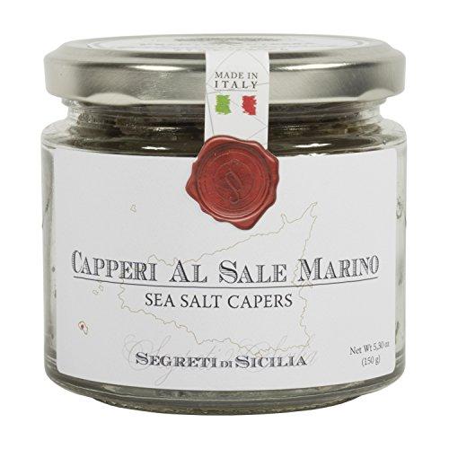 Cutrera - Kapern in Meersalz aus Sizilien - 150 g