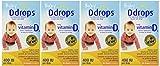 Ddrops Baby 400 Iu 90 Drops 0.08 Fluid Ounce (4 Pack)