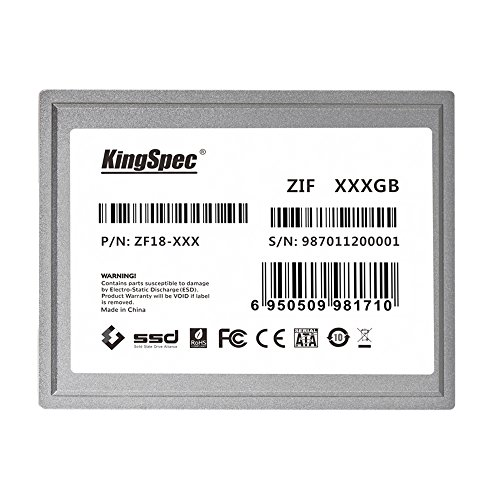 KingSpec 64GB 1,8 Zoll ZIF 40-polig SSD Solid State Disk SMI-Controller (MLC)