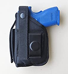 small Thigh holster for Torus Millennium G2 PT111, PT140 (with rifle laser attached to rifle)