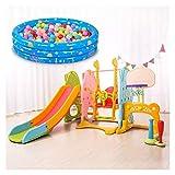 Las diapositivas de interior for los niños pequeños, Estructuras de Juego con aro de baloncesto, se puede utilizar con Swing, Puerta de fútbol, mesas plegables de la Plata, Baloncesto Stand, Bate de