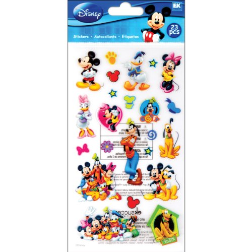 Disney Pegatinas de Mickey Mouse y Sus Amigos