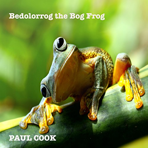 Bedolorrog the Bog Frog audiobook cover art
