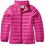 Amazon Essentials Girl's Lightweight Water-Resistant Packable Puffer Jacket, Fuchsia Purple, X-Large