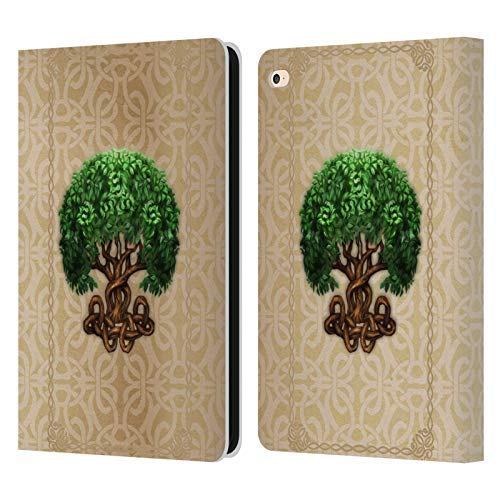 Head Case Designs Officially Licensed Brigid Ashwood Tree of Life Celtic Wisdom 2 Leather Book Wallet Case Cover Compatible with Apple iPad Air 2 (2014)