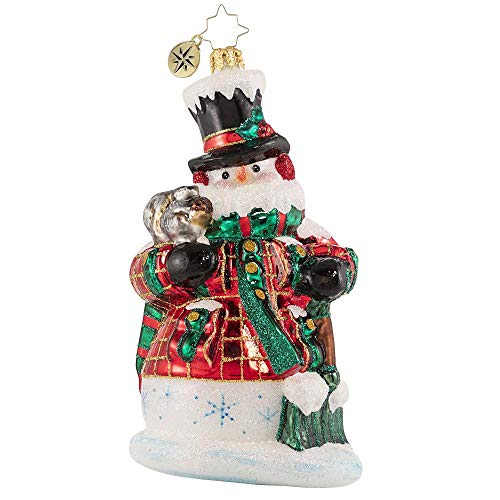 Christopher Radko HandCrafted European Glass Christmas Decorative Figural Ornament Fun by The ShovelFull