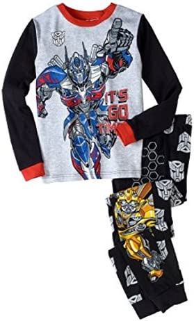 Transformers Boys 2pc Pajamas Its Go Time Bumble Bee Optimus Prime 6 product image