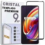 Protector de Pantalla Curvo para REALME X7 Pro, Negro, Cristal Vidrio Templado Premium, 3D / 4D / 5D, Anti Roturas
