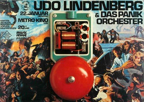 Udo Lindenberg - Alles Klar 1973 - Poster Plakat Konzertposter