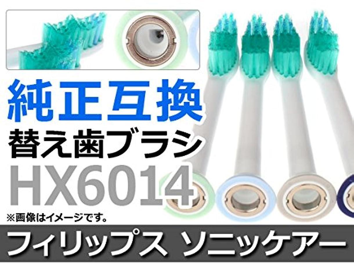 痛み創始者摘むAP 電動 替え歯ブラシ フィリップス ソニッケアー HX6014 純正互換 AP-TH016 入数:1セット(4本)