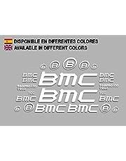 Ecoshirt CI-IGS4-OTD8 Sticker BMC F167 Vinyl Decal Sticker Decal Decal Sticker Muursticker MTB Bike wit