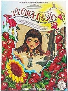 50 pcs Strawberry La Chica Fresita air Fresheners Aromatizante Fresa