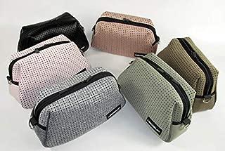 Hedzup Neoprene Metallic Black Shoulder Bag