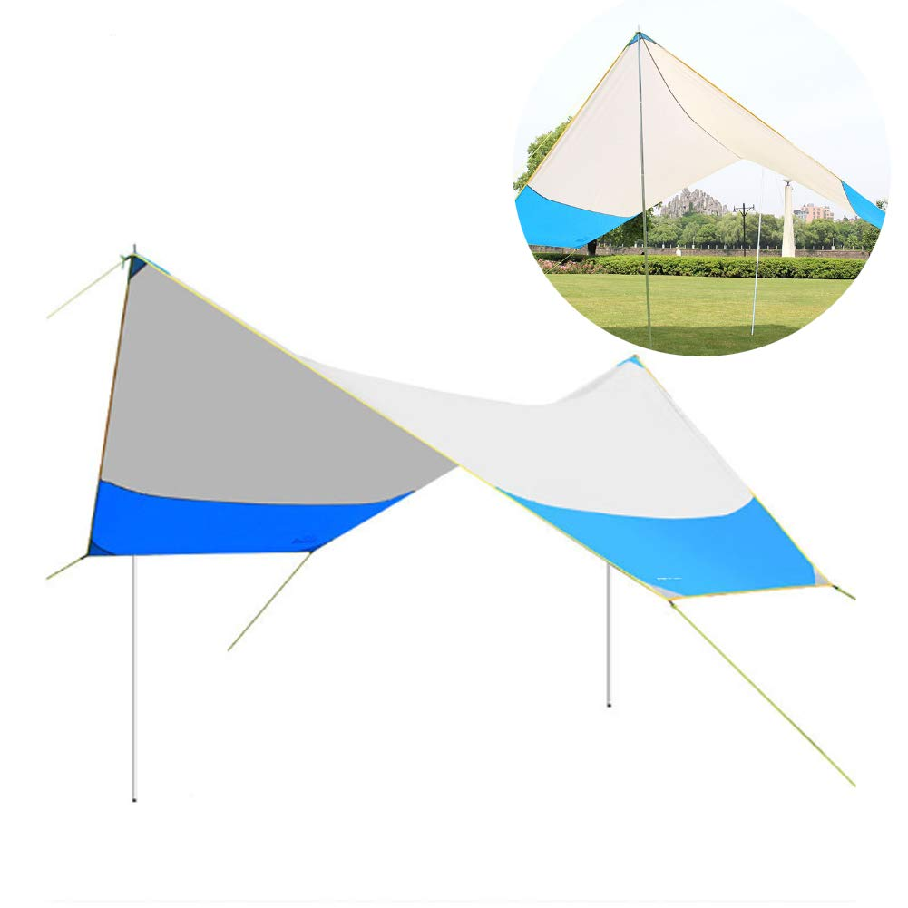 AWSCDCS Tienda de campaña portátil - Tienda de campaña al Aire Libre Tienda de campaña en la Playa Cubierta para Dosel pérgola de Gran tamaño Plegable,A: Amazon.es: Deportes y aire libre