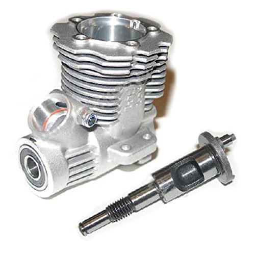 Traxxas Nitro 4-Tec 3.3 Engine CRANKCASE, CRANKSHAFT, BEARINGS & PINCH BOLT