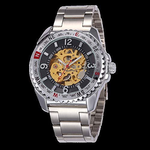 SJXIN Orologio meccanico di alta qualità, Shenhua/Men Design Automatic Mechanical Watch (Color : 2)