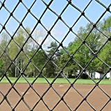 Topeakmart 10x20ft Heavy Duty Baseball Softball Batting Cage Net #18 Backstop Practice Net Sports Edged Net Tunnel Net