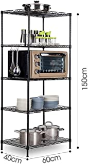 Scaffalature Metalliche Dimensioni.Amazon It Scaffalature Metalliche Nero