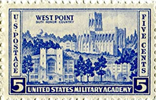 west point 5 cent stamp