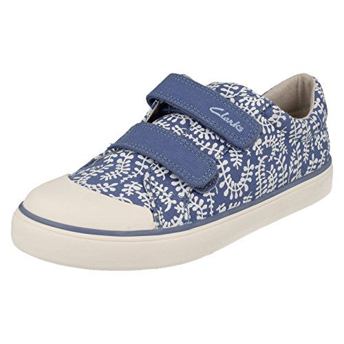 Clarks Brill Ice Inf Blue Combi - Blue Combi - 12 UK Child