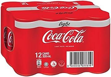 Coca-Cola Light, 320ml, (Pack of 12)