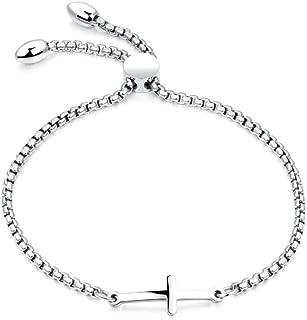 Best silver cross bracelets Reviews