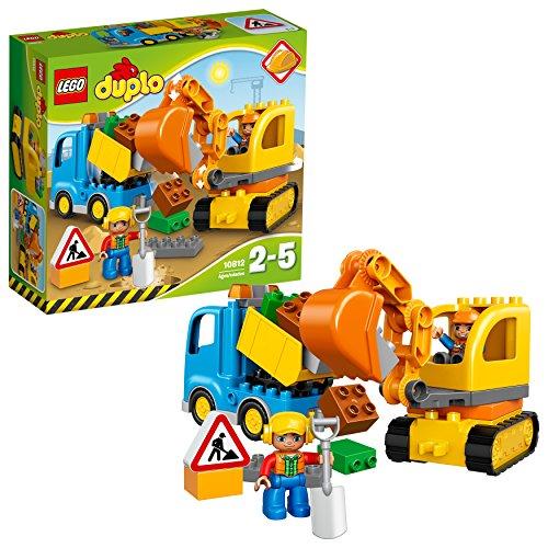 LEGO DUPLO Ma ville - Le camion et la pelleteuse - 10812 - Jeu de...