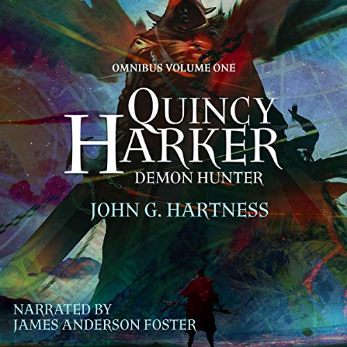 Quincy Harker, Demon Hunter - Omnibus Volume One cover art