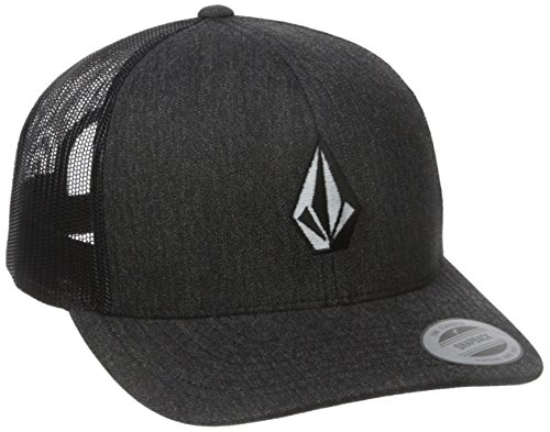 Volcom Herren Full Stone Cheese Baseballmütze, Charcoal Heather, One Size