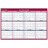 2021 Erasable Calendar, Dry Erase Wall Planner by AT-A-GLANCE, 48' x 32', Jumbo, Vertical/Horizontal, Reversible (PM3262821)