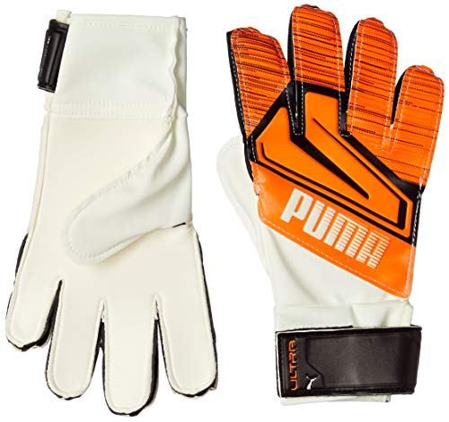 PUMA Puma Ultra Grip 4 RC Guantes De Portero, Unisex Adulto, Shocking Orange/Puma White/Puma Black, 10