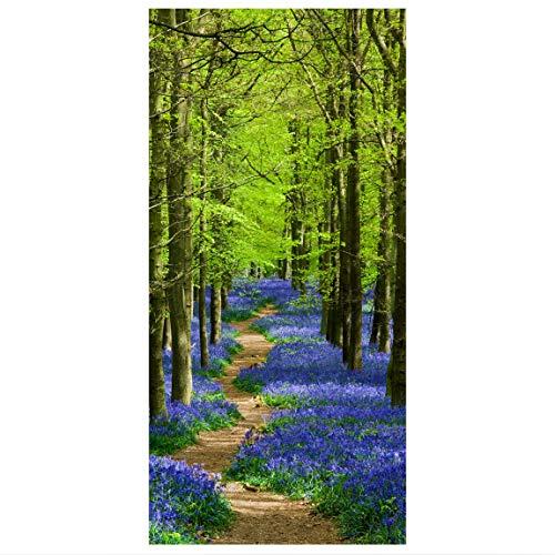 Bilderwelten Raumteiler Wanderweg in Hertfordshire 250x120cm inkl. transparenter Halterung