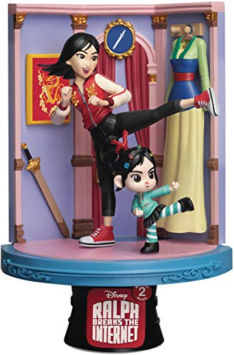 Beast Kingdom DS-054 Wreck-It Ralph 2 Series-Mulan D Stage