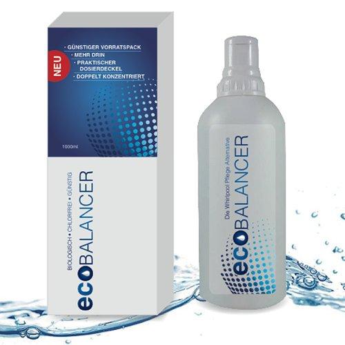 chlorfreie Wasserpflege, biologische Whirlpool Wasserpflege eco Balancer