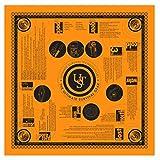 Ultimate Survival Technologies Bandana Orange Kerchief w/Survival Tips (4-Pack)4