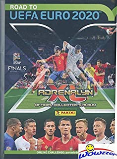 2020 Panini Adrenalyn Road to EUFA EURO EXCLUSIVE Collectors Album Binder with 30 Sheets that can hold up to 540 Cards! Plus Includes Game Board & Magazine! Brand New! Imported from Europe! WOWZZER!