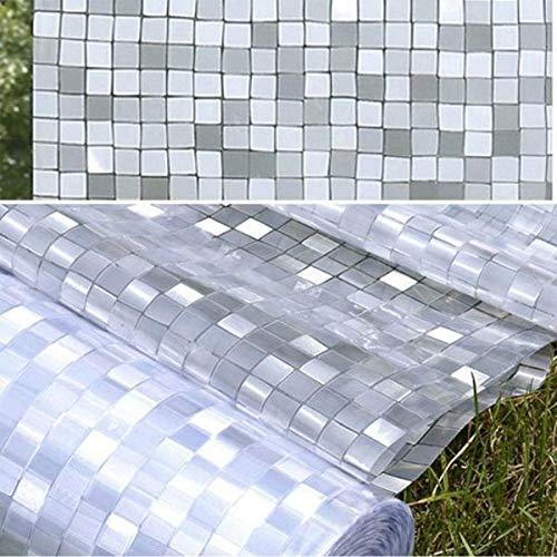StickersLab privacy privacy film voor ramen met zelfklevende en uv-controle calore 90cm x 150cm