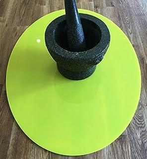 Salvaencimera - Oval - Amarillo - Grande - 60 x 45 cm