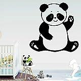 BFMBCH Pegatinas de pared personalizadas de animales panda autoadhesivas...