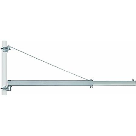 Einhell Fixation équerre pour potence GT-SA 1200 - Longeur 110 cm - portée à 750 mm : 600 kg max. - portée à 1100 mm : 300 kg max. - Diam7tre fixation potence : 48 mm